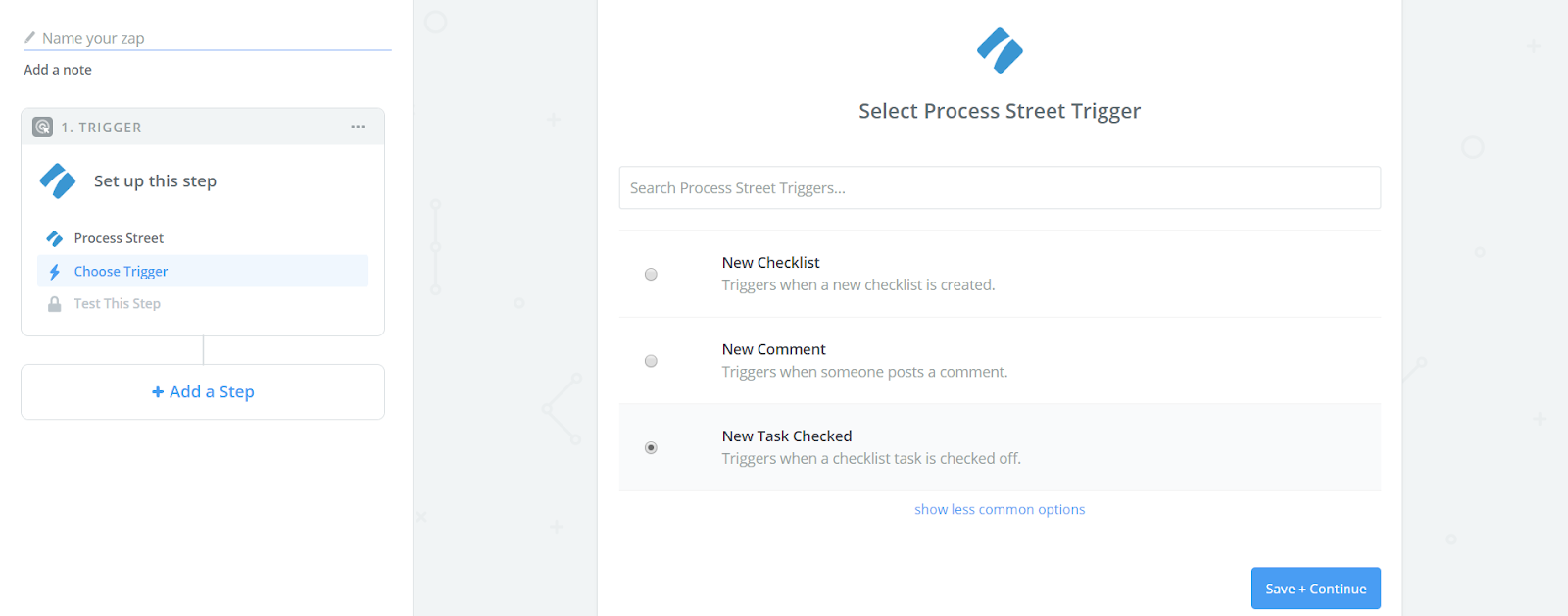 Zapier and Process street integration