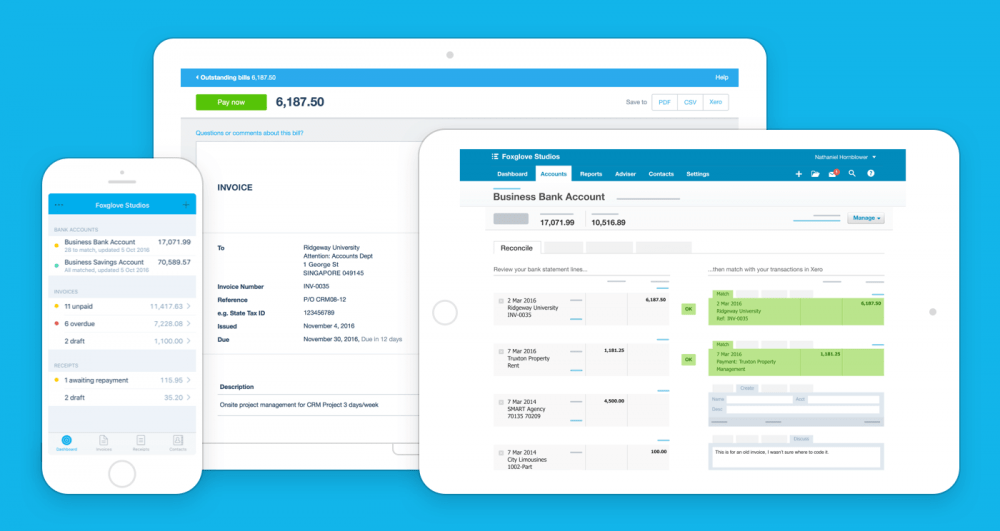 ClicData and Xero Accounting Connection | ClicData