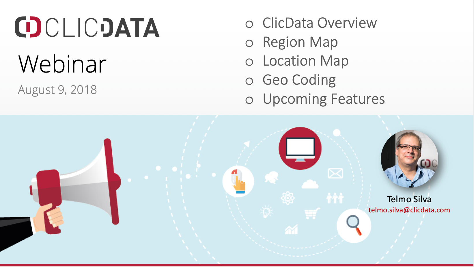 Learn how to visualize your geo data in interactive maps in ClicData