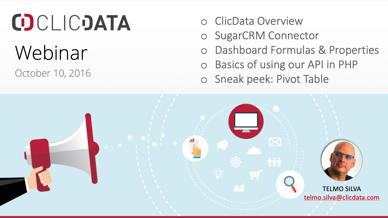 Learn how to connect your SugarCRM data and other business applications with our API connectors and web services