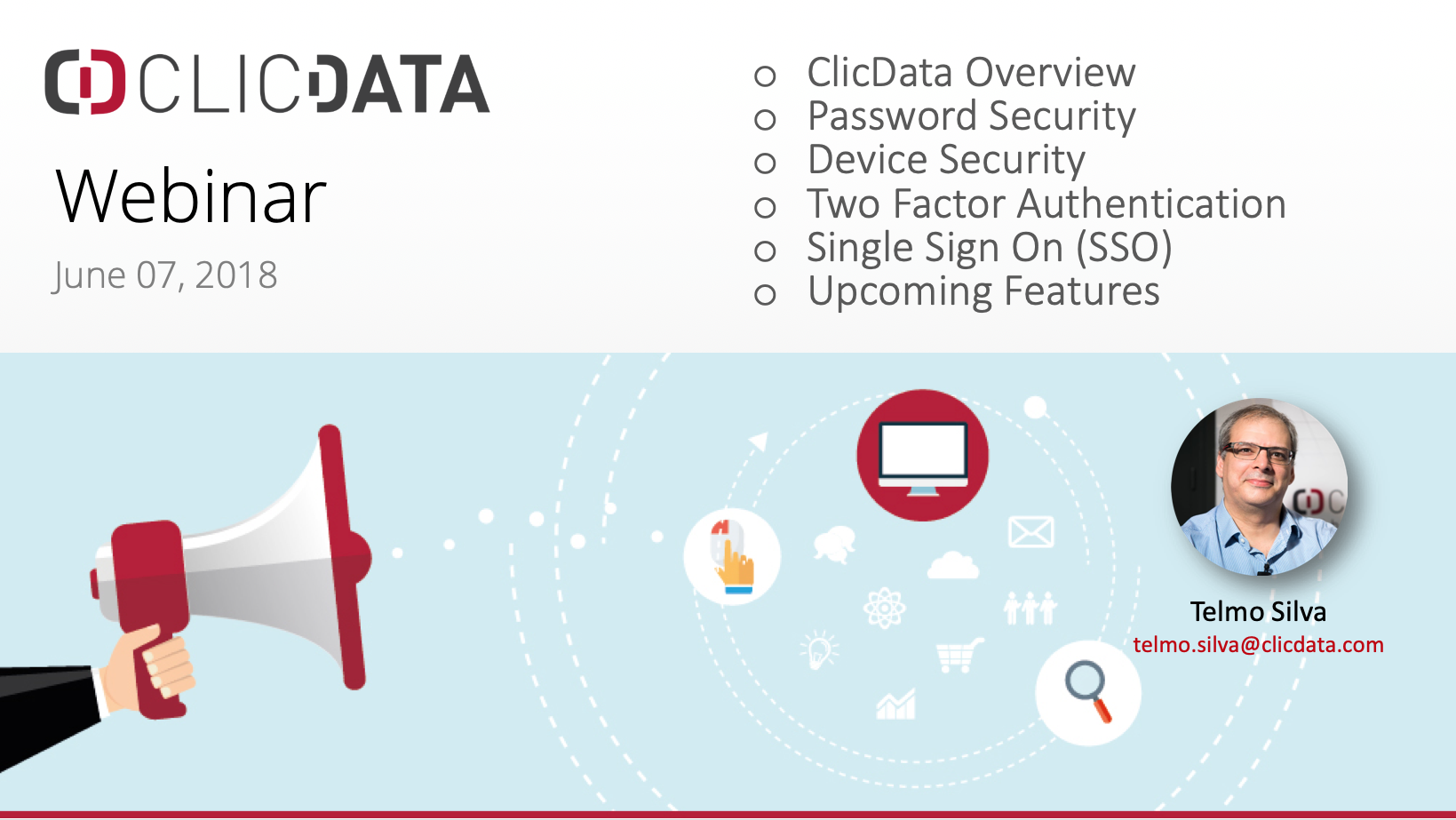 ClicData webinar to learn how to keep your data secure