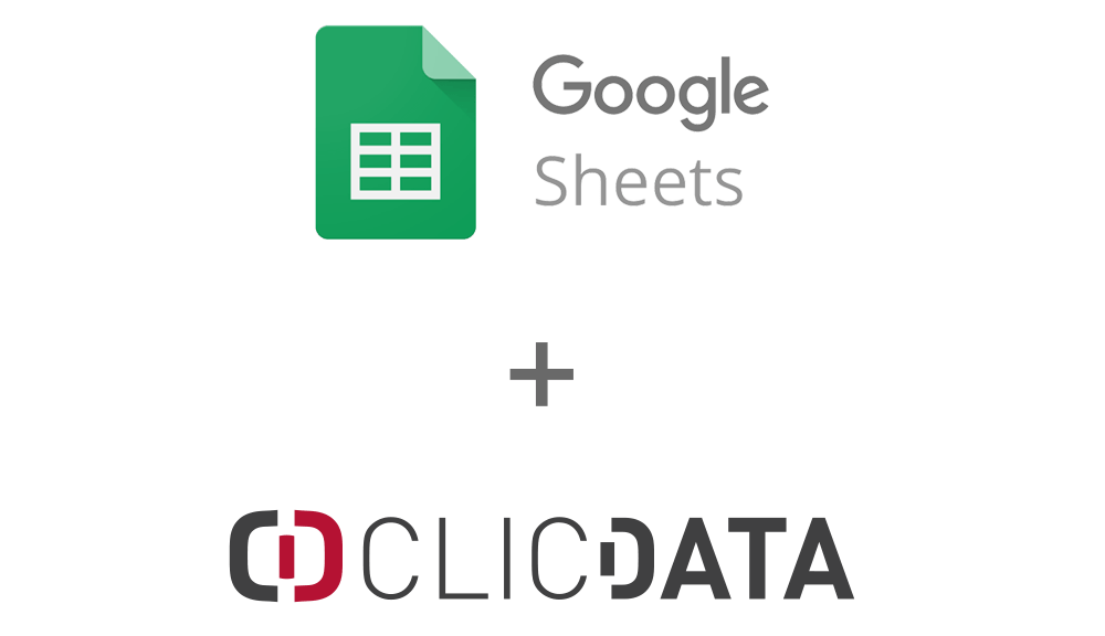 Clicdata Google Sheets Connection