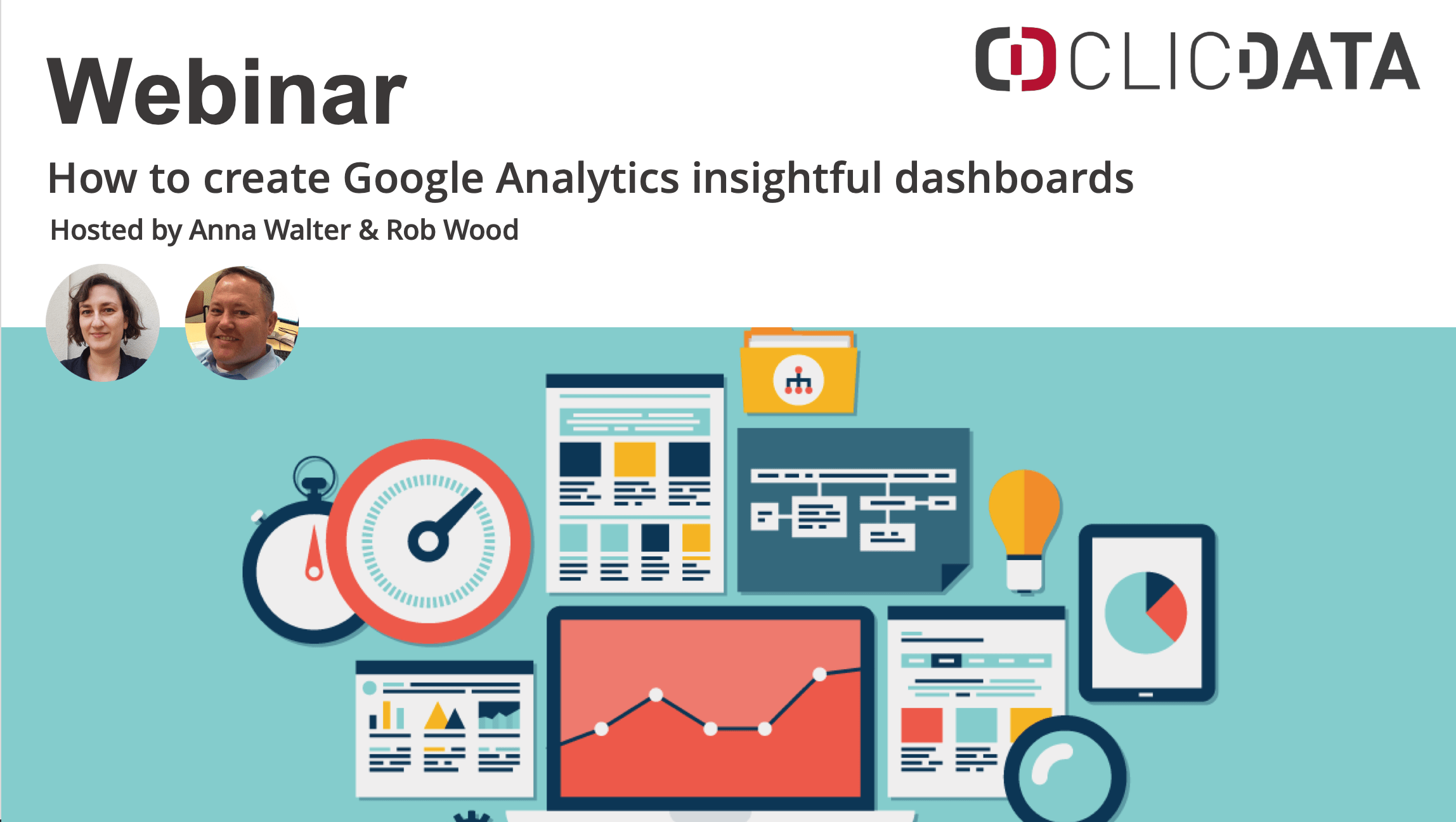 Clicdata Webinar Google Analytics Connection