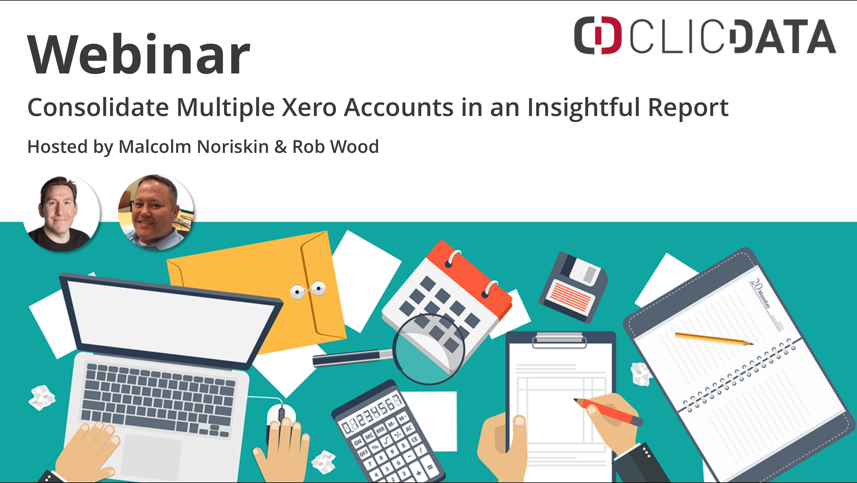 Clicdata Webinar Xero Connection