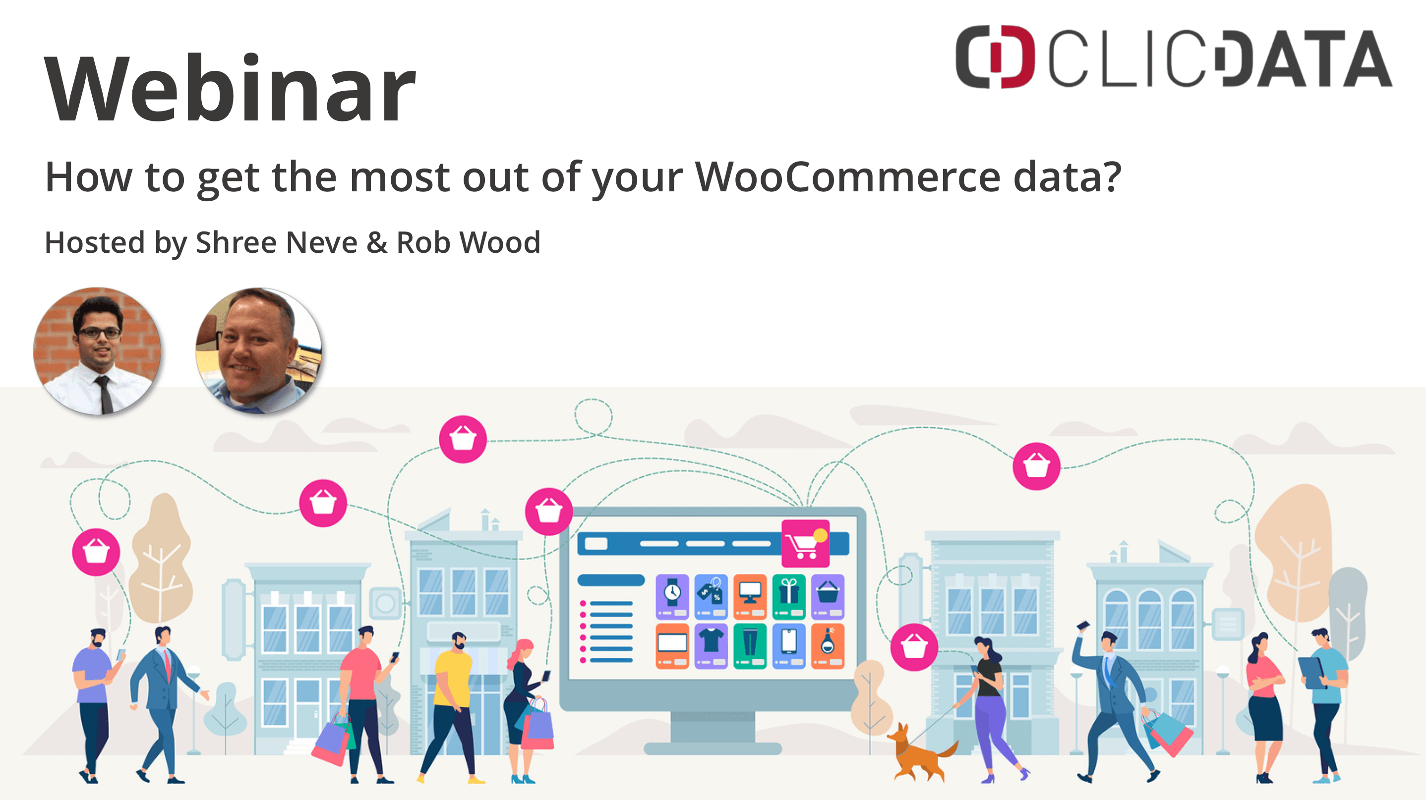 Woocommerce Analytics Dashboard Webinar Clicdata