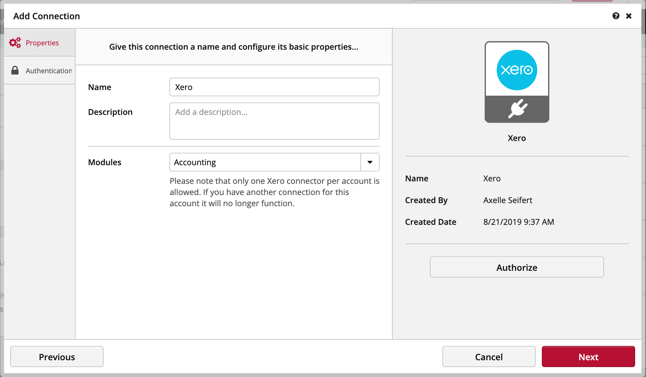 Connecting Xero Clicdata