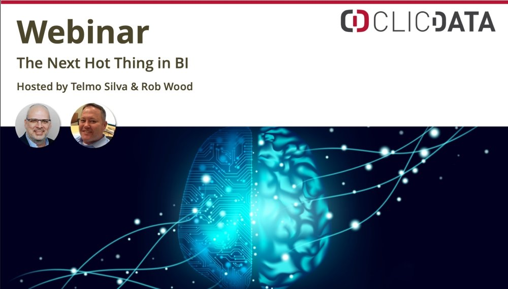 Webinar The Next Hot Thing In Bi