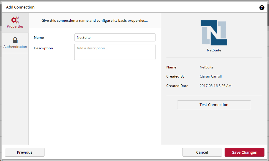 Connecting To Netsuite
