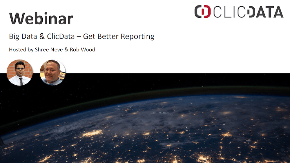 Clicdata Webinar Big Data