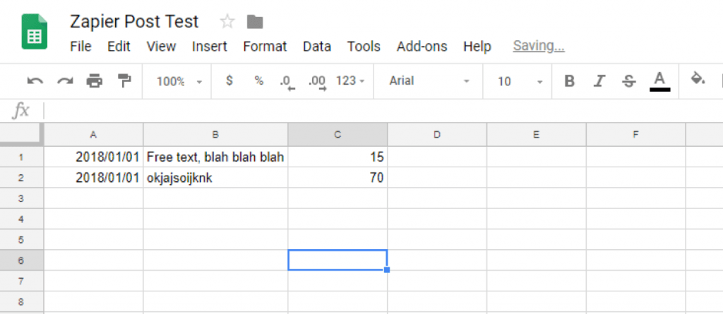 Create Your Google Sheet