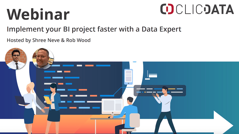 ClicData Webinar BI Project Implementation
