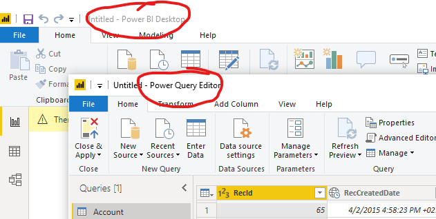 Powerbi Query Editor