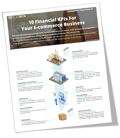 E Commerce Financial Kpis Cover