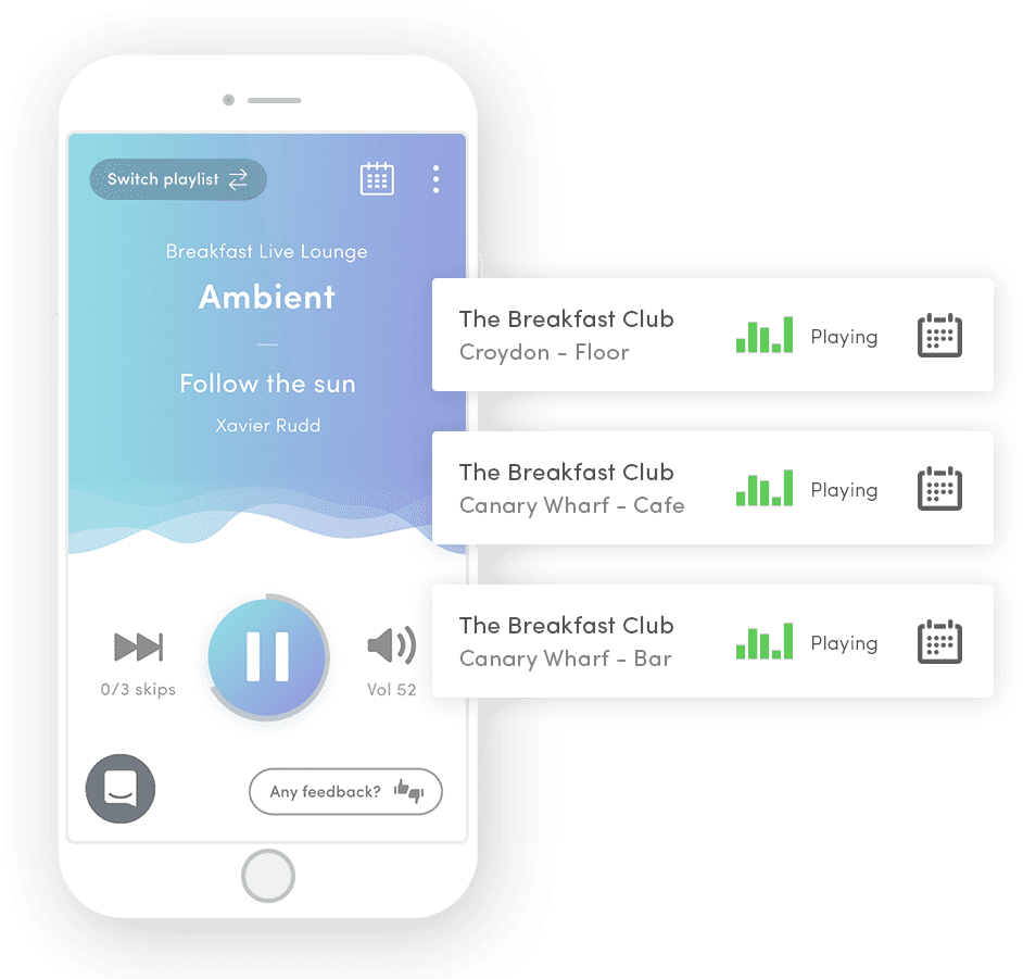 Ambie Soundtrack App For Hotels Food And Beverages