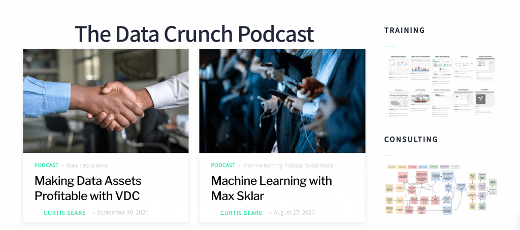 Data Crunch Big Data Podcast