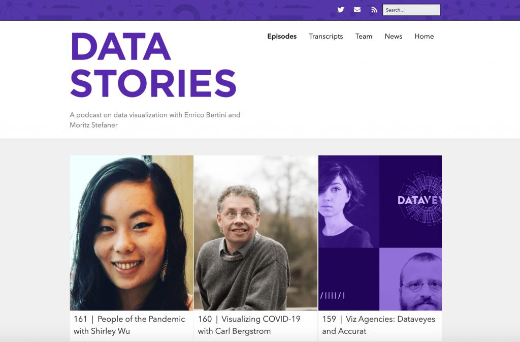 Data Stories Big Data Podcast
