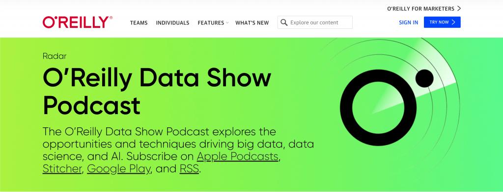 O Reilly Big Data Podcast