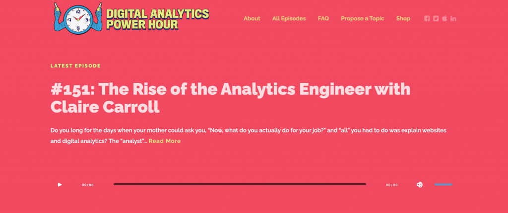 The Digital Analytics Power Hour Podcast