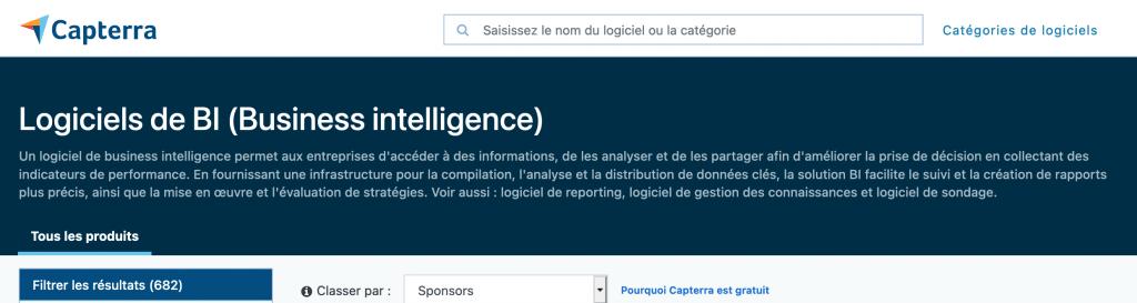capterra business intelligence