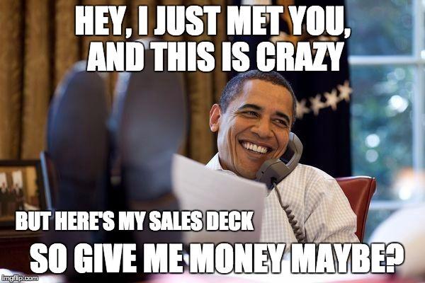 sales deck meme